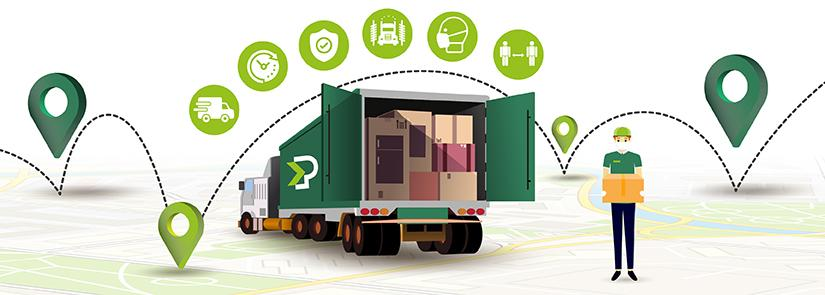 In emergenza, trasporti e spedizioni attivi al 100%