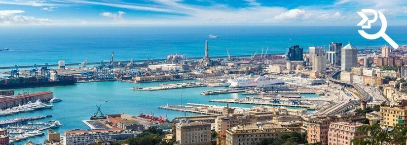 Trasporti e spedizioni in Liguria con Pesenti
