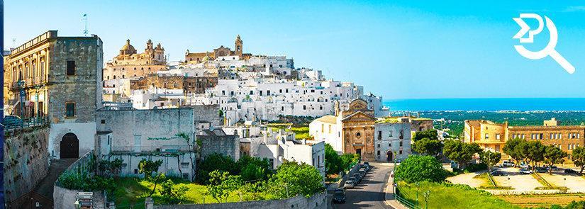 Trasporti e spedizioni in Puglia con Pesenti
